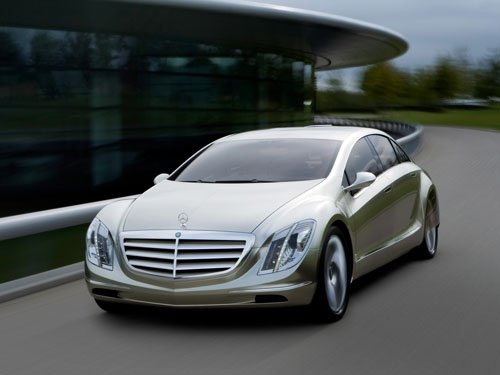 "Mercedes-Benz  F-700 Concept Car Poster Print on 10 mil Archival Satin Paper 16"" x 12"""
