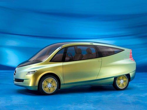 "Mercedes-Benz Bionic Concept Car Poster Print on 10 mil Archival Satin Paper 16"" x 12"""