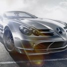 "Mercedes-Benz SLR McLaren Roadster 722 S Car Poster Print on 10 mil Archival Satin Paper 16"" x 12"""