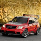"Mercedes-Benz GLK Pikes Peak Rally Racer Car Poster Print on 10 mil Archival Satin Paper 16"" x 12"""