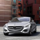 "Mercedes-Benz F800 Style Research Car Poster Print on 10 mil Archival Satin Paper 16"" x 12"""