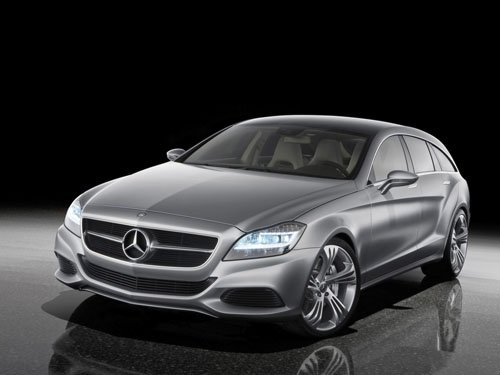 "Mercedes-Benz Shooting Brake 2010 Concept Car Poster Print on 10 mil Archival Satin Paper 16"" x 12"""