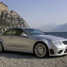 "Mercedes-Benz CLK 63 Black Concept Car Poster Print on 10 mil Archival Satin Paper 16"" x 12"""