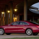 """Mercedes-Benz CLS550 Car Poster Print on 10 mil Archival Satin Paper 16"""" x 12"""""""