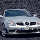 "Mercedes-Benz SLK55 AMG Car Poster Print on 10 mil Archival Satin Paper 20"" x 15"""