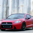 "Mitsubishi Eclipse Ralliart Concept Car Poster Print on 10 mil Archival Satin Paper 16"" x 12"""