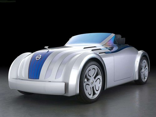 "Nissan Jikoo Concept Car Poster Print on 10 mil Archival Satin Paper 16"" x 12"""