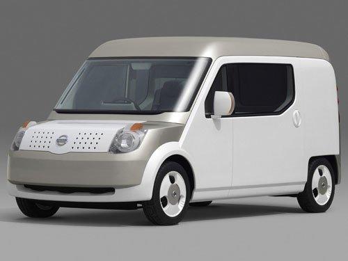 "Nissan Beeline Concept Car Poster Print on 10 mil Archival Satin Paper 16"" x 12"""