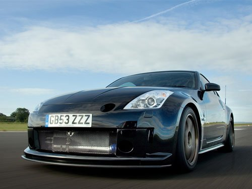 "Nissan 350Z GT-S Concept Car Poster Print on 10 mil Archival Satin Paper 16"" X 12"""