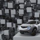 "Nissan Qazana Concept Car Poster Print on 10 mil Archival Satin Paper 16"" x 12"""