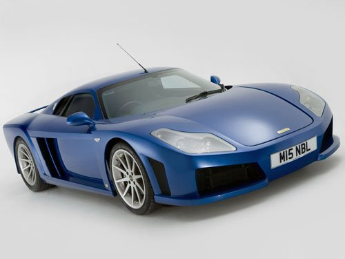 "Noble M15 Car Poster Print on 10 mil Archival Satin Paper 16"" x 12"""