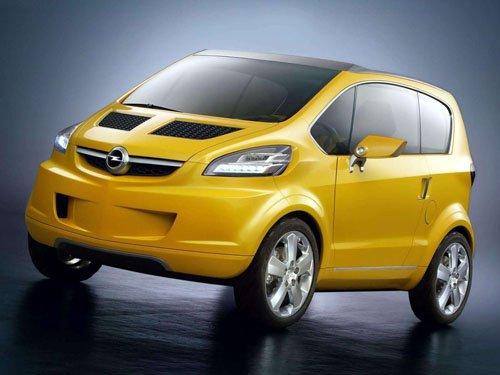 "Opel TRIXX Concept Car Poster Print on 10 mil Archival Satin Paper 16"" x 12"""