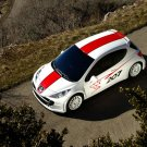 """Peugeot 207 R Cup Concept Car Poster Print on 10 mil Archival Satin Paper 16"""" x 12"""""""