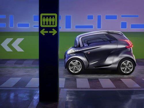 "Peugeot BB1 Concept Car Poster Print on 10 mil Archival Satin Paper 16"" x 12"""