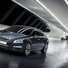 "Peugeot 5 Concept Car Poster Print on 10 mil Archival Satin Paper 16"" x 12"""