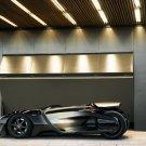 "Peugeot EX1 Concept Car Poster Print on 10 mil Archival Satin Paper 16"" x 12"""