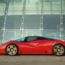 "Pininfarina Ferrari P4-5 Car Poster Print on 10 mil Archival Satin Paper 16"" x 12"""