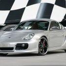 "Porsche TechArt Cayman Car Poster Print on 10 mil Archival Satin Paper 16"" x 12"""