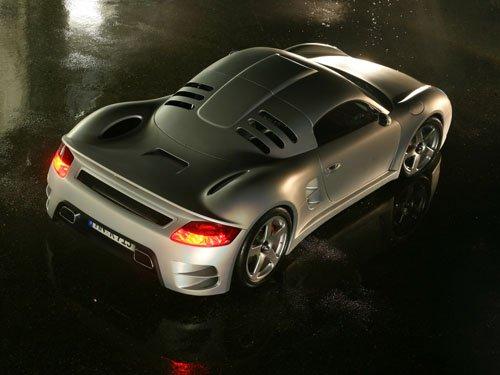 "Porsche Ruf CTR-3 Concept Car Poster Print on 10 mil Archival Satin Paper 16"" x 12"""
