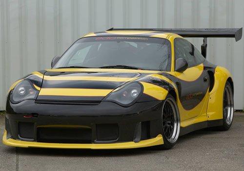"Porsche Edo 996 GT2 RS Car Poster Print on 10 mil Archival Satin Paper 16"" x 12"""