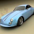 "Porsche Panamera Design Concept Car Poster Print on 10 mil Archival Satin Paper 16"" x 12"""