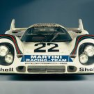 "Porsche 917 Race Car Poster Print on 10 mil Archival Satin Paper 16"" x 12"""
