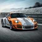 "Porsche 911 GT3 R Hybrid 2011 Car Poster Print on 10 mil Archival Satin Paper 16"" x 12"""
