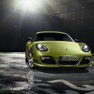 "Porsche Cayman R 2011 Car Poster Print on 10 mil Archival Satin Paper 16"" x 12"""