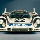 "Porsche 917 Race Car Poster Print on 10 mil Archival Satin Paper 20"" x 15"""