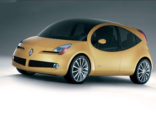 "Renault Be Bop Sport Concept Car Poster Print on 10 mil Archival Satin Paper 16"" x 12"""