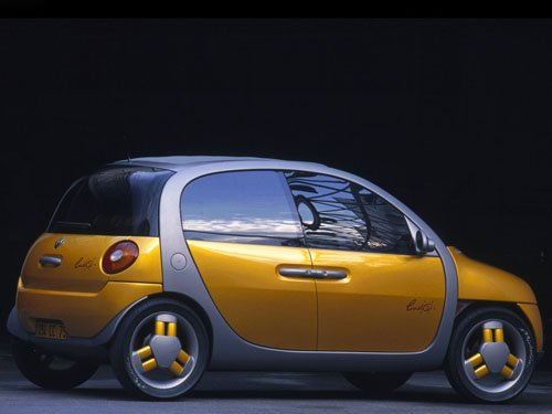 """Renault Ludo Concept Car Poster Print on 10 mil Archival Satin Paper 16"""" x 12"""""""