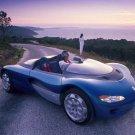 "Renault Laguna Roadster Concept Car Poster Print on 10 mil Archival Satin Paper 16"" x 12"""