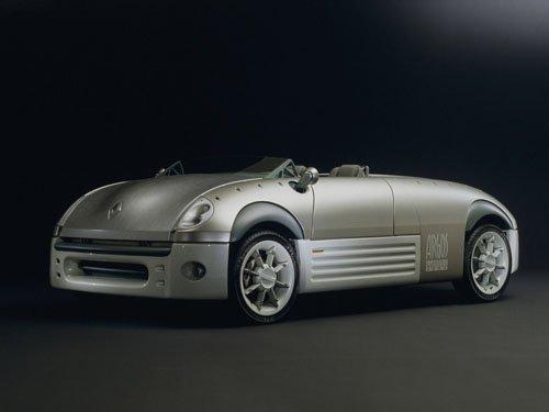 "Renault Argos Concept Car Poster Print on 10 mil Archival Satin Paper 16"" x 12"""