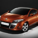 "Renault Megane Coupe Car Poster Print on 10 mil Archival Satin Paper 16"" x 12"""