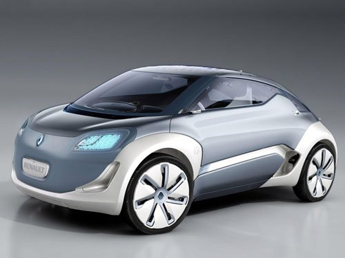 "Renault Zoe ZE Concept Car Poster Print on 10 mil Archival Satin Paper 16"" x 12"""