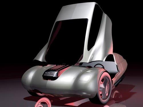 "Riley Enterprises XR3 Concept Car Poster Print on 10 mil Archival Satin Paper 16"" x 12"""