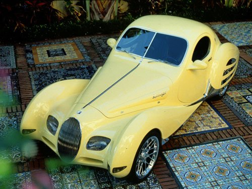"""Rinspeed Yello Concept Car Poster Print on 10 mil Archival Satin Paper 16"""" x 12"""""""