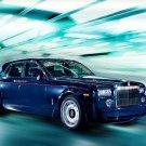 "Rolls-Royce Centenary Phantom Car Poster Print on 10 mil Archival Satin Paper 16"" x 12"""