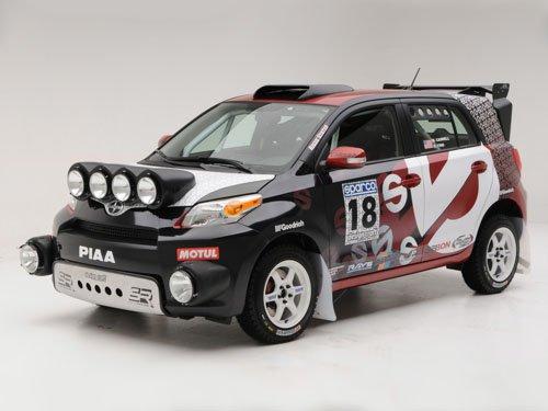 "Scion Rally xD Car Poster Print on 10 mil Archival Satin Paper 16"" x 12"""