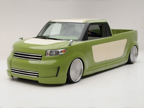 """Scion xB Tuner by Brandon Leung Concept Car Poster Print on 10 mil Archival Satin Paper 16"""" x 12"""""""