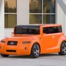 "Scion Hako Coupe Concept Car Poster Print on 10 mil Archival Satin Paper 20"" x 15"""