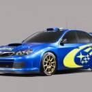 "Subaru WRC Concept Car Poster Print on 10 mil Archival Satin Paper 16"" x 12"""