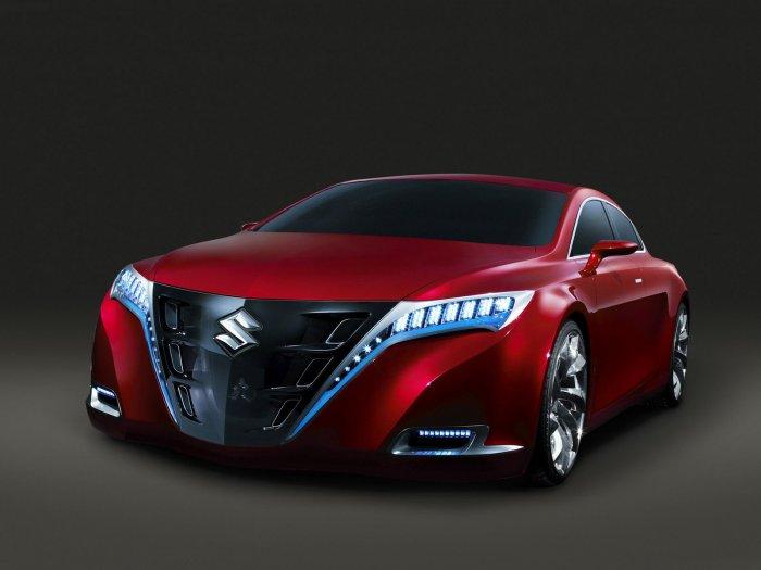 "Suzuki Kizashi Concept Car Poster Print on 10 mil Archival Satin Paper 16"" x 12"""