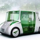 """Toyota Rin Concept Car Poster Print on 10 mil Archival Satin Paper 16"""" x 12"""""""