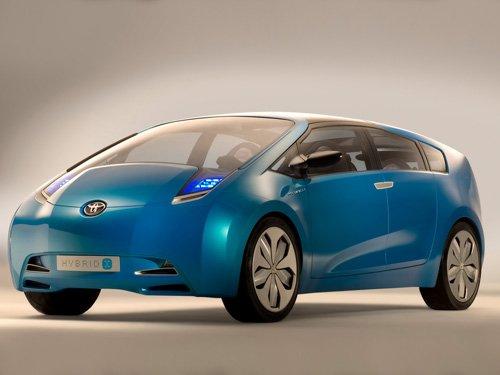 "Toyota Hybrid X Concept Car Poster Print on 10 mil Archival Satin Paper 16"" x 12"""