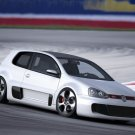 "Volkswagen Golf GTI W12 650 Concept Car Poster Print on 10 mil Archival Satin Paper 16"" x 12"""