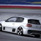 "Volkswagen Golf GTI W12 650 Poster Print on 10 mil Archival Satin Paper 16"" x 12"""