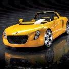 "Volkswagen Eco Racer Prototype Car Poster Print on 10 mil Archival Satin Paper 16"" x 12"""