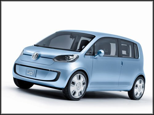 """Volkswagen Space Up! Concept Car Poster Print on 10 mil Archival Satin Paper 16"""" x 12"""""""