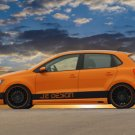"Volkswagen Polo 2010 Concept Car Poster Print on 10 mil Archival Satin Paper 16"" x 12"""